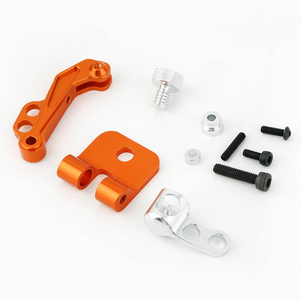 RC Model Aerial CNC Aluminum Alloy FPV Monitor Mount Bracket for Transmitters @ZJF