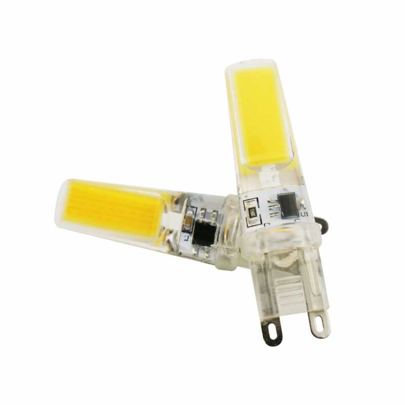 LED G4 G9 E14 Lamp Bulb AC/DC Dimming 12V 220V 3W 6W 9W COB SMD LED Lighting Lights replace Halogen Spotlight Chandelier