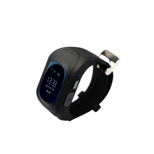 0.96 oled gps tracker LBS/GPS location with pedometer SOS baby smart watch