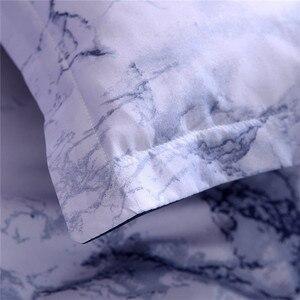 Image 5 - 간단한 대리석 침구 이불 커버 세트 이불 커버 트윈 킹 사이즈 베개 캐스 그레이트 하우스 온난화 선물 현대 꿈꾸는 별