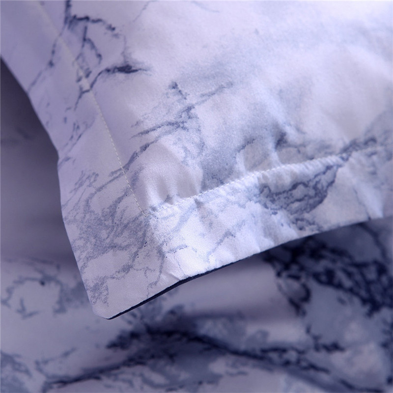 Image 5 - Simple Marble Bedding Duvet Cover Set Quilt Cover Twin King Size With Pillow Cas  great house warming gift modern dreaming stars-in Bedding Sets from Home & Garden