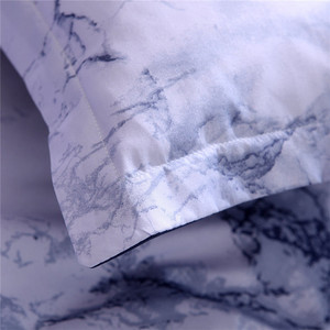 Image 5 - Simple Marble Bedding Duvet Cover Set Quilt Cover Twin King Size With Pillow Cas  great house warming gift modern dreaming stars