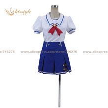 Aikatsu Kisstyle Moda! idol actividad hoshimiya ichigo aoi kiriya uniforme de verano ropa cosplay, modificado para requisitos particulares aceptado