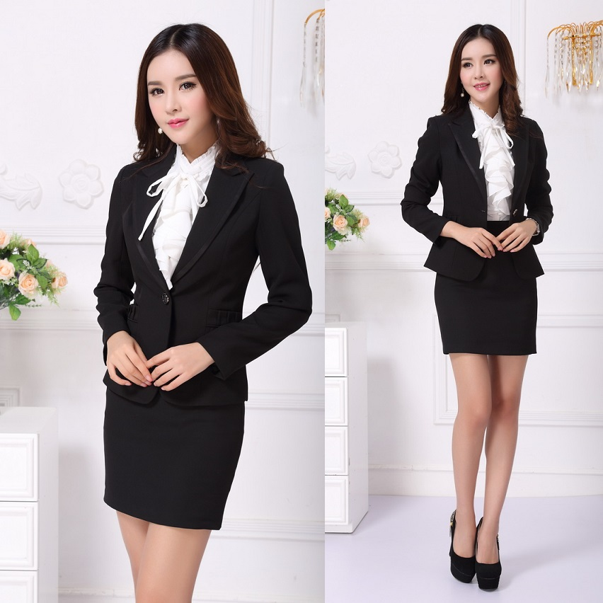 Popular professional office uniforms buy cheap for Office uniform design 2016