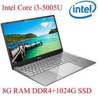 עבור לבחור P3-05 8G RAM 1024G SSD I3-5005U מחברת מחשב נייד Ultrabook עם התאורה האחורית IPS WIN10 מקלדת ושפת OS זמינה עבור לבחור (1)