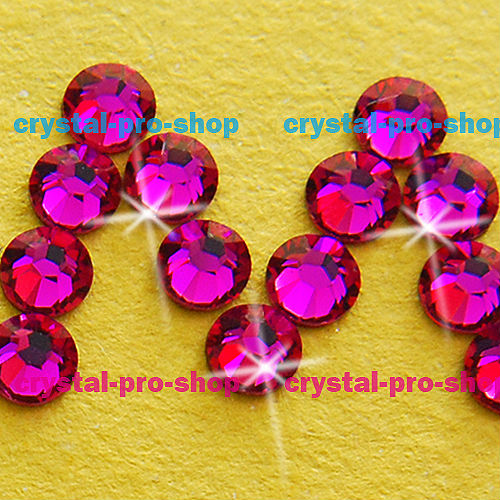 ss16 GENUINE Swarovski Elements Ruby Red ( 501 ) 288 pcs ( NO hotfix  Rhinestone ) Crystal Glass 16ss 2058 FLATBACK-in Rhinestones from Home    Garden on ... c01396308c26