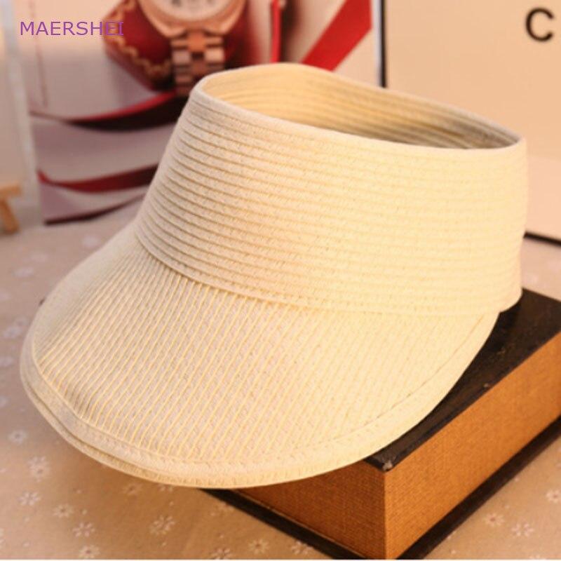 MAERSHEI Topi perempuan musim panas perjalanan di luar ruangan topi - Aksesori pakaian - Foto 5