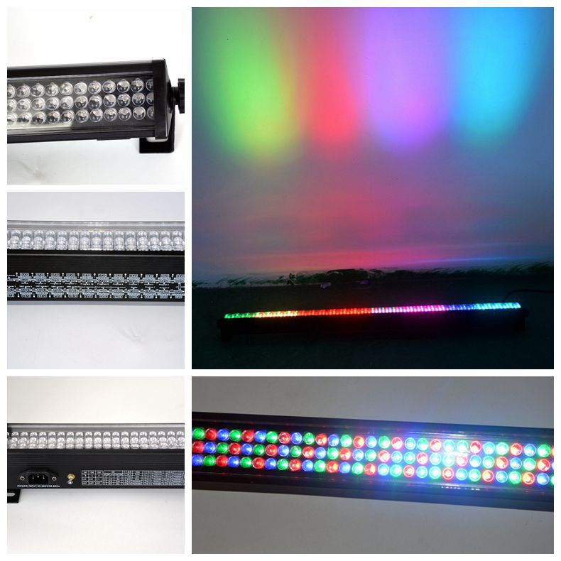 Hot 252  DJ Led Light RGBW DMX Wall Bar Stage Wash  Light