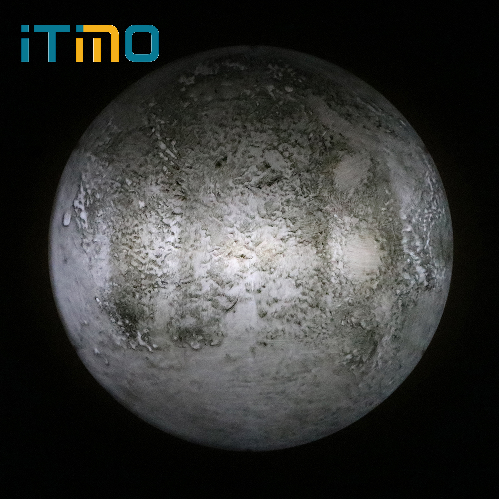 ITimo Wall Lamp Gift For Kids Indoor Lighting With Remote Control Novelty Lighting Healing Moon Lamp LED Night Light