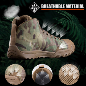 Image 3 - FREE SOLDIER outdoor sport tactical military mens shoes multi cam soft lightweight trekking shoes for camping hiking