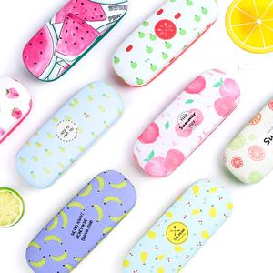 Protable Fruit Sunglasses Hard Eye Glasses Case Eyewear Protector Box Pouch Bag