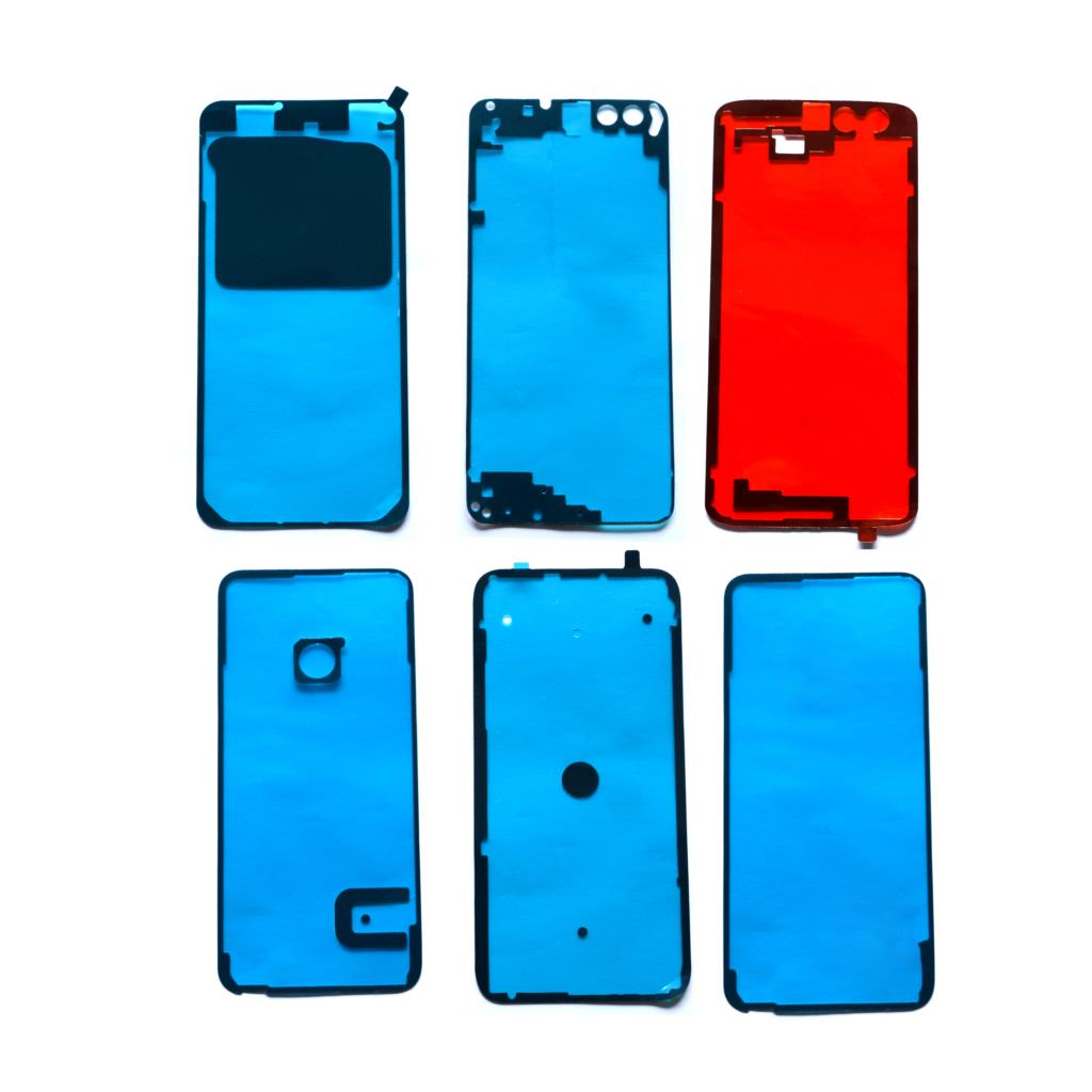 2x Back Battery Cover  Door Sticker Adhesive Glue Tape For Huawei Honor 8 9 10 20 Lite Honor8 Honor9  P8 Lite 2017 P20 P30 Pro