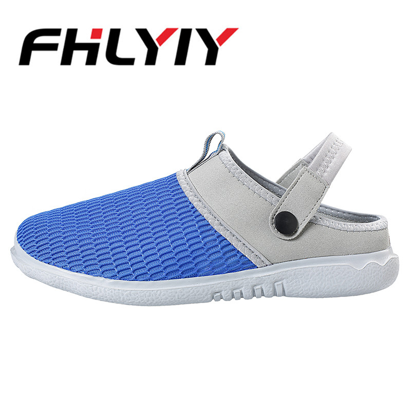 Summer Mens Garden Slide Slippers Casual Soft Non Slip Sandals For Men Mens Lightly Slipper Mule Clog Flat Breathable Sandals
