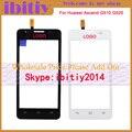 """5.0 """"высокое Качество Для Huawei Ascend G520 G525 U8951 T8951 G510 Сенсорный Экран Датчик С Панелью Дигитайзер Переднее Стекло Объектива"""