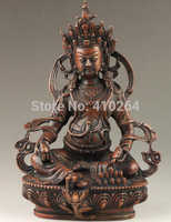 Dettagli su Vintage Collection HandMade Buona Bronzo vecchio mestiere Spirituale Esorcismo Statua di Buddha (A0314)