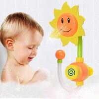 赤ちゃんの水浴おもちゃひまわり水シャワースプレー浴室のおもちゃ水噴霧おもちゃ小説夏キッズベビーbrinquedos