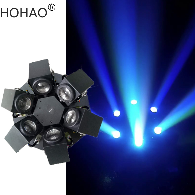2018 New Arrive 6head high power strong beam effect led moving head beam effect stage disco dj lights