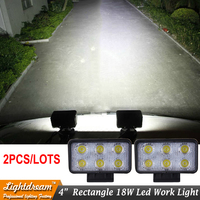 New Arrival 18w Led Work Light For Offroad 4wd Atv Car 4x4 Truck Tractor Bike Motorcycle