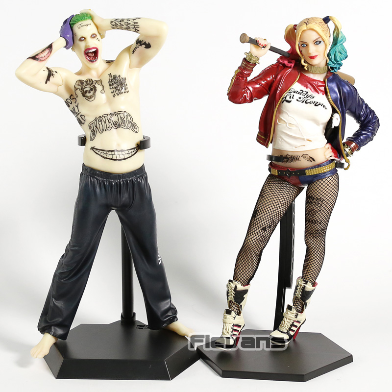 Crazy Toys Suicide Squad Harley Quinn Joker  1/6th Scale PVC Figures Toy Collectible Model StatueCrazy Toys Suicide Squad Harley Quinn Joker  1/6th Scale PVC Figures Toy Collectible Model Statue