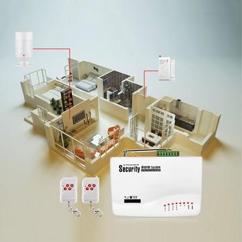 FUERS 10A GSM نظام إنذار ل نظام الحماية المنزلي مع السلكية PIR الحركة مستشعر الباب المزدوج هوائي إنذار ضد السرقة التحكم عن بعد