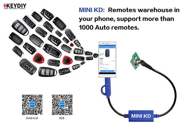 KEYECU Keydiy Mini générateur de générateur de clé Mobile KD pour système Android et IOS