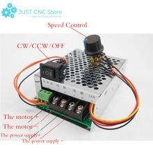 купить DC Motor Speed Controller 10-50V 40A Regulator PWM CW CCW Reversible Pulse Driver недорого