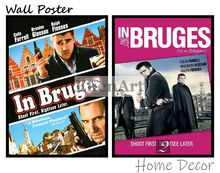 In Bruges Movie Home Decorative Painting White Kraft Paper Poster 42X30cm