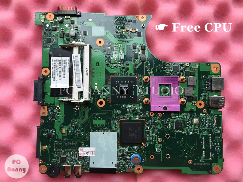NOKOTION V000138460 6050A2170401 for Toshiba Satellite L305 L300 GL40 Laptop working Main Board Motherboard free CPU