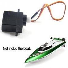 High Quality Steering Engine Assembly and Fixed Cap For Feilun FT 009 RC Boat FT009 RC Accessories