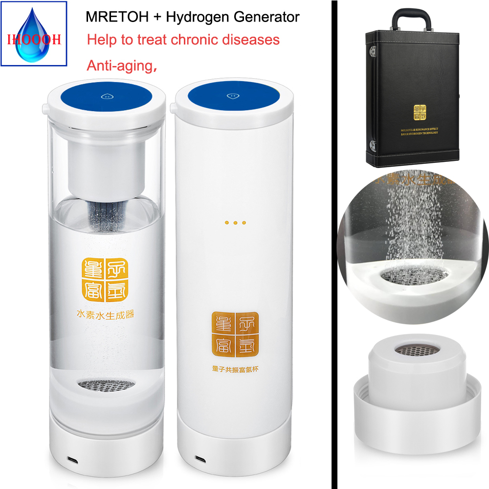 IHOOOH MRET OH 7 8HZ Enhance the immunity of the human body and Anti aging Hydrogen water generator cup bottle in Water Filters from Home Appliances
