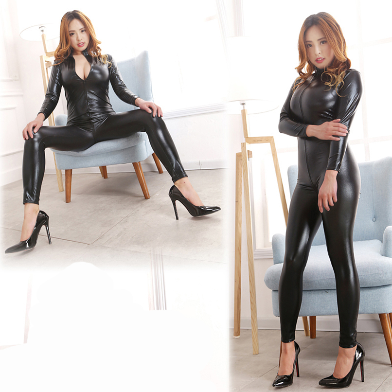 цены  MaryXiong Bondage Restraints Bodysuit Erotic Sexy Straitjacket Catsuit Front Zipper Jumpsuit Women Costumes Body Harness Sex Toy
