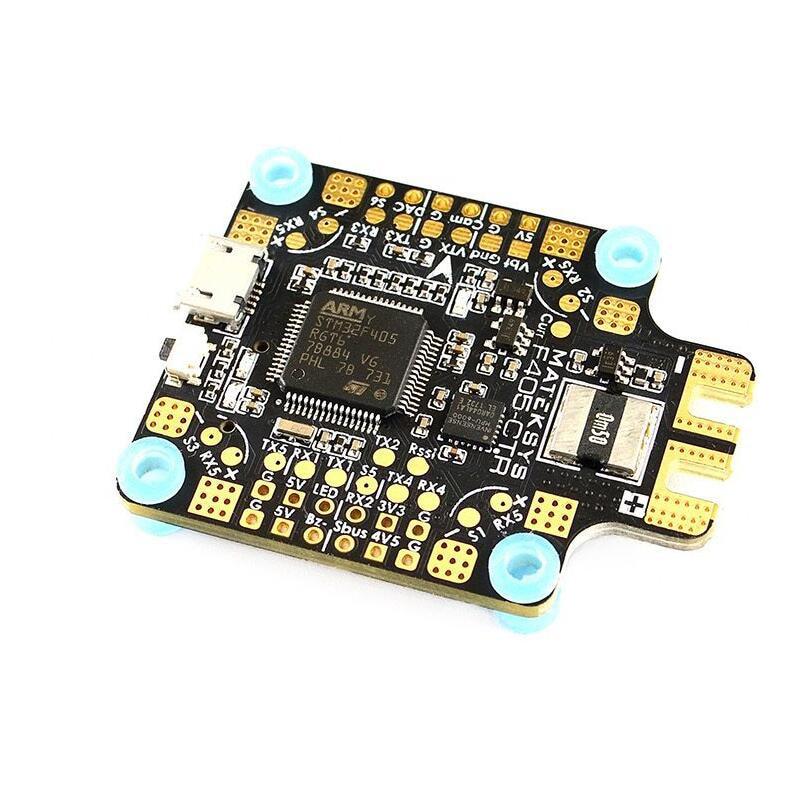 Системы matek F405-CTR Полет управления Встроенный PDB OSD 5 В/2A BEC ток Сенсор для Радиоуправляемый Дрон для RC Multicopter