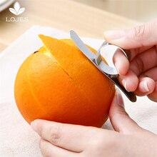Нержавеющая Сталь Оранжевый Овощечистка Zesters терка для лимонов фрукты овощерезка кухонные инструменты посуда кухонные аксессуары гаджеты