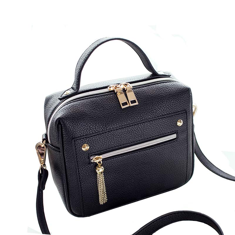 2017 New Retro Female Minimalist Crossbody Bag Small Women Shoulder Bag Tassel W