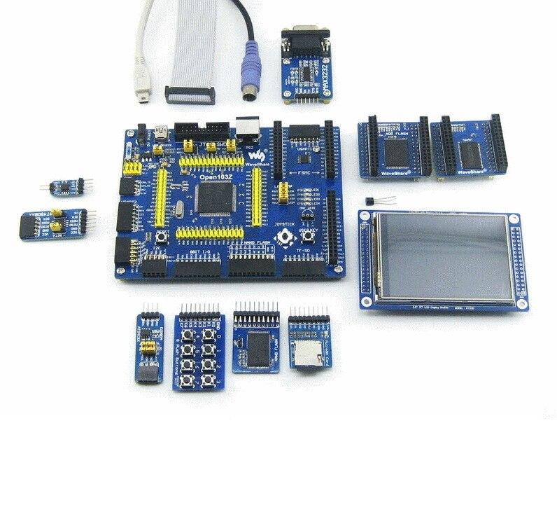ФОТО STM32F103ZET6 STM32F103 STM32 ARM Cortex-M3 Development Board + PL2303 USB UART Module Kit = Open103Z Standard