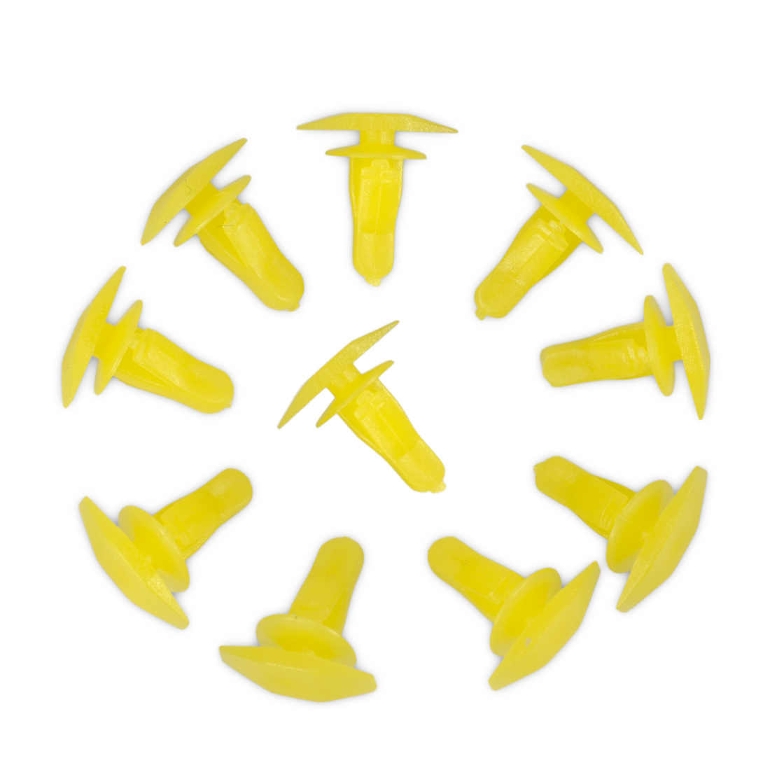 CITALL 10 adet 91530-SP1-003 Sarı Kauçuk Weatherstrip Kapı ve Çizme Mühür Klipleri s 6mm Delik Honda Accord Civic için CRV Acura 3.5RL