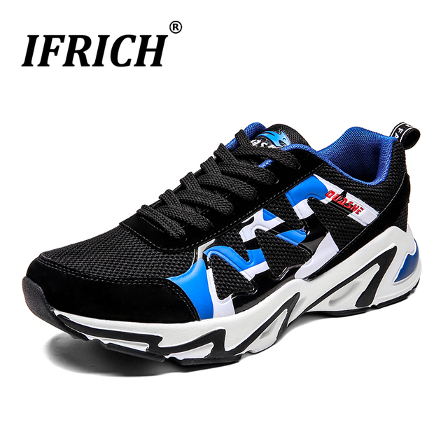 2019 New Walking Shoes For Men Brand Gym Outdoor Man Shoes Breathable Mens Running Sneakers Designer Athletic Shoes Male