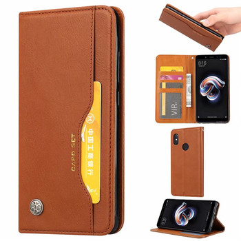 Luxury High Quality Wallet With Card Slot Flip Cover Leather Case For Huawei Nova 3 /Nova 3i Anti-knock Protect Cases