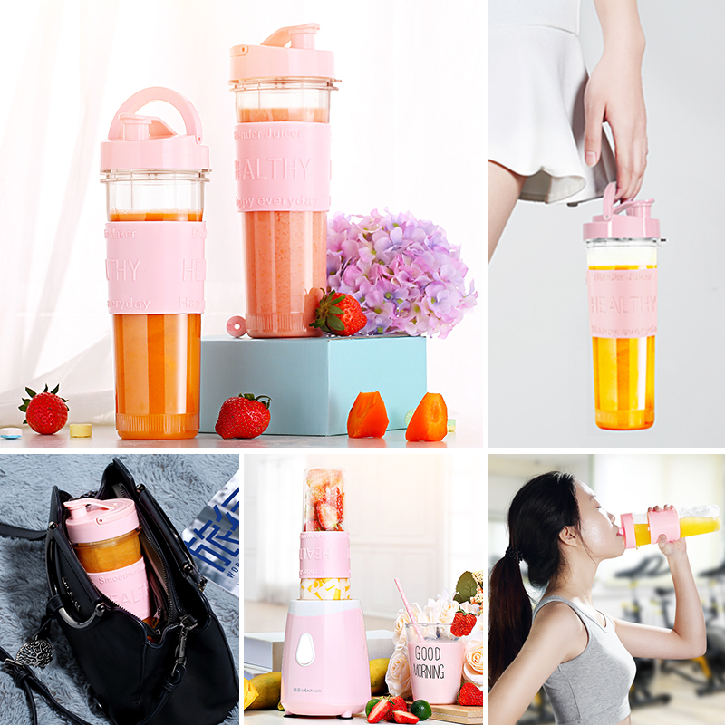 Electric Portable Mini Fruit Juicer Machine 200W Mini Blenders Mixer Sports Cups Fruit Vagetable Juice Maker portable electric juice cups home mini juicer small handheld food supplement charge juice machine