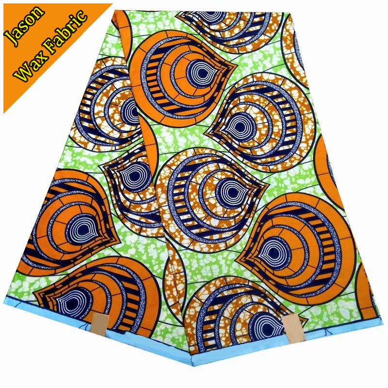 New design arrival 100% polyester ankara fabric super wax african prints fabric wax 6yards fabric for dress / LBL