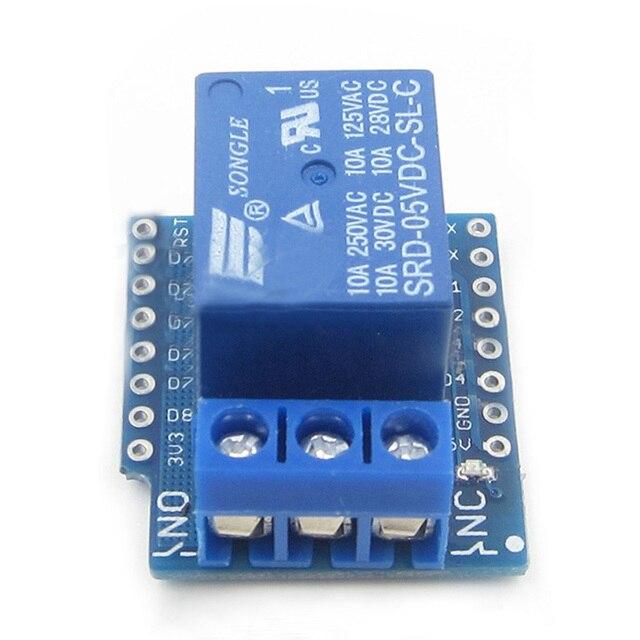 1CH Relay Shield V2 Version 2 for WEMOS D1 mini ESP8266 WiFi Module for Arduino