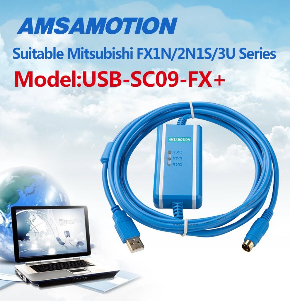 Freeshipping Usb Sc09 Fx For Mitsubishi Plc Programming Cable Fx0n 01 06 02 03 Htb12v3edjqhskjjsspnq6a79xxa8 000 Htb11o3mg6uhskjjsspaq6xfgfxax