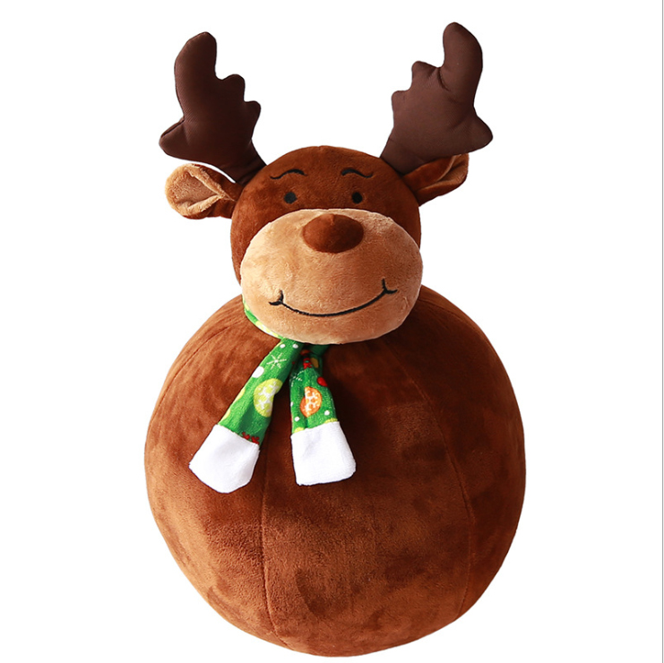 Snowman deer dolls and plush toys gifts for Christmas