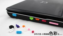 13pcs set Colorful Silicone Anti Dust Plug Cover Stopper Laptop dust plug laptop dustproof usb dust plug Computer Accessories cheap Earphone Jack Plug YMZ3WZY 3 5mm