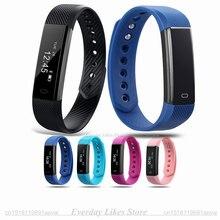 Оригинал ID115HR Умный Браслет Heart rate monitor Фитнес Tracker Step Counter Смарт Браслет BT 4.0 Спорт Сна Монитор Трек