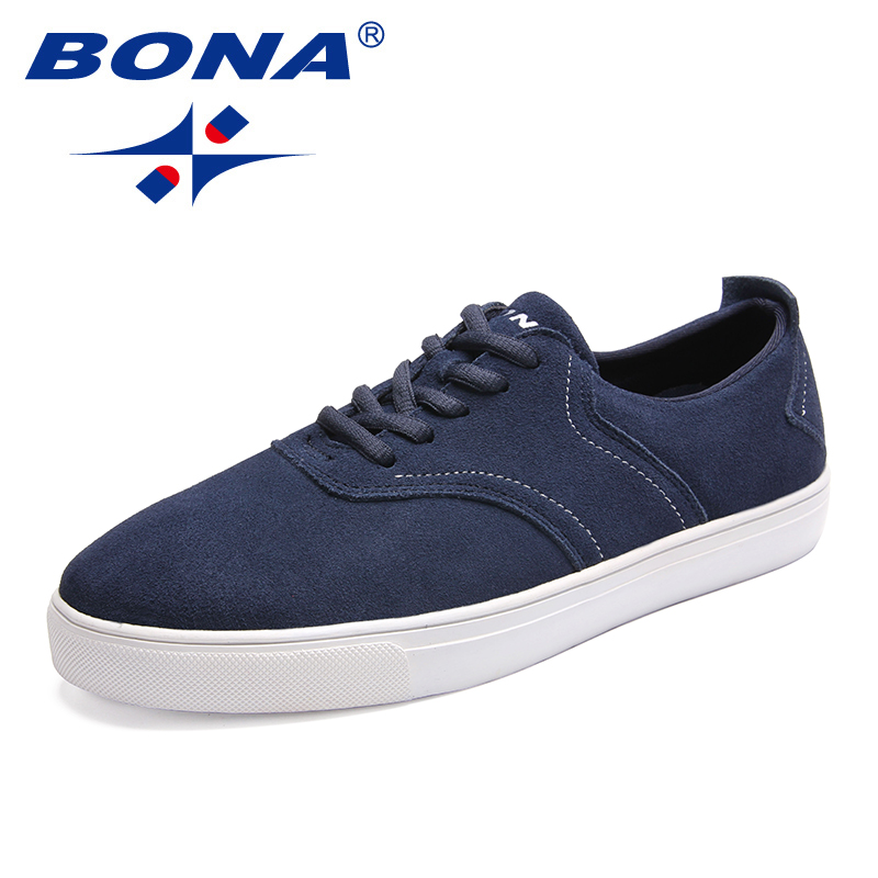 BONA New Arrival Classics Style Men Casual Shoes Lace Up Men Loafers Outdoor Fashion Sneakers Comfortable