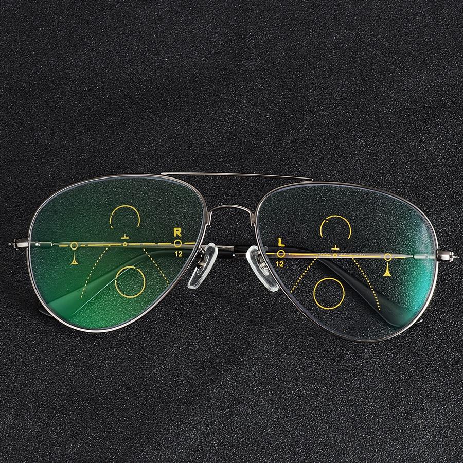 06059c378f Gmei óptico Decoración elegante óptica marcos De gafas miopía redonda De  Metal De la aleación De