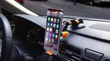 Adjustable Foldable Rotary Suction GPS Mobile Phone Car Holder Stand Mount For Motorola Nexus X Nexus 6,Moto G 4G (2015)