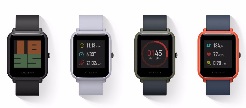 Amazfit Bip Smartwatch (Global Version) 6