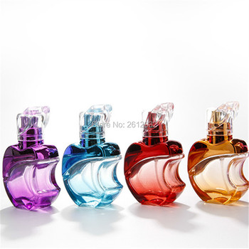 15-20ml Special Apple Glass Perfume Bottle Refillable Bottle Clear Perfume Container Glass Bottle spray Fragrance Atomizer